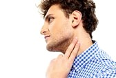 33894487-portrait-of-a-man-touching-his-neck